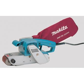Makita 9924DB silná pásová brúska s možnosťou používať pásy šírky 76 a 100 mm