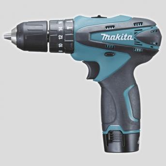 Makita HP330DWE akumulátorový LITHIUM-ION vŕtací skrutkovač s príklepom