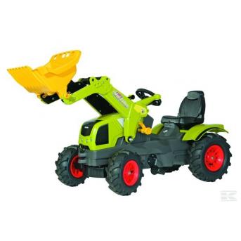 Rolly Toys - Claas Axos s čel. nakl.+pneu.