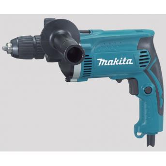 Makita HP1631K elektronická príklepová vŕtačka s rýchloupínacím skľučovadlom
